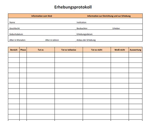Downloads Unterlagen Fur Forschung Und Fortbildung In Der Kleinkindpadagogik Beller Entwicklungstabelle